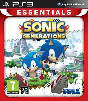Sonic Generations: Essentials (PS3) - Game  LAVG The Cheap Fast Free Post
