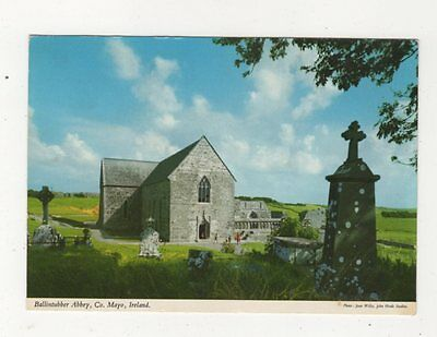 Ballintubber Abbey Co Mayo Ireland 1985 Postcard 982a
