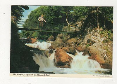 The Waterfall Oughterard Co Galway Ireland 1981 Postcard 986a