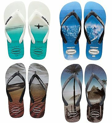 Havaianas Brasil Hype Top Photoprint Flip Flop Infradito Ciabatte Sandali Mare