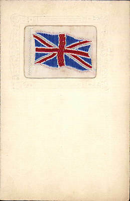 Woven Silk. Union Jack by ? W.H.Grant.