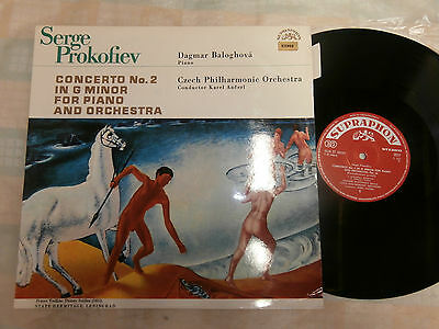 PROKOFIEV: CONCERTO No.2 FOR PIANO AND ORCHESTRA /BALOGHOVA / C.P.O. /ANCERL N/M