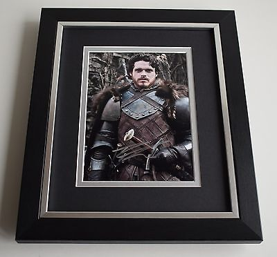 Richard Madden SIGNED 10X8 FRAMED Photo Autograph Game of Thrones TV GOT & COA