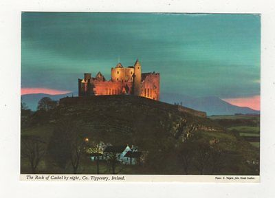 The Rock Of Cashel By Night Tipperary Ireland 1984 Postcard 986a