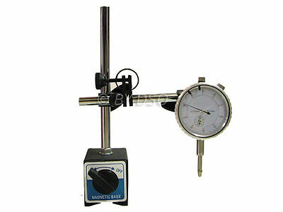 Trade Quality Magnetic DTI Stand 6kgs Analogue Metric Dial Gauge 0-10mm UK STOCK