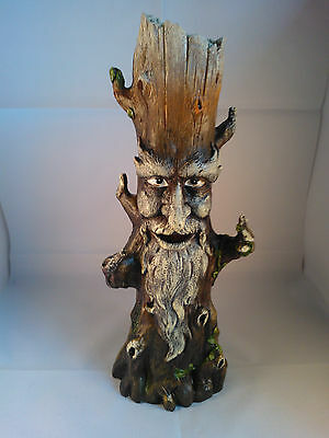 Green Treeman Stick Incense Burner