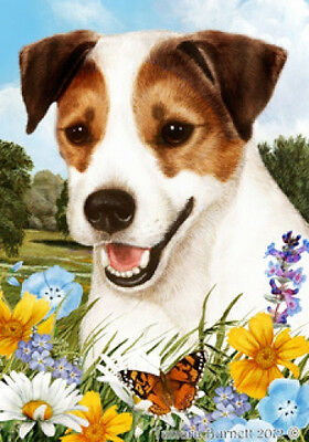 Garden Indoor/Outdoor Summer Flag - Jack Russell Terrier 180241