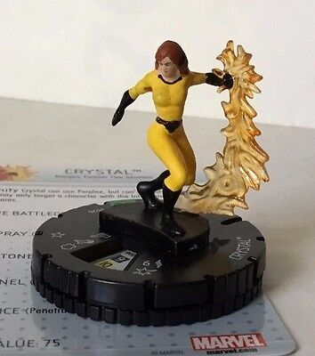 HeroClix Guardians of the Galaxy  #026  CRYSTAL  MARVEL