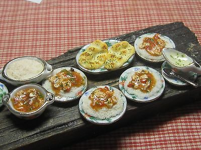 12th scale dollhouse dolls house food~Chicken curry R2/1~ by redclegg