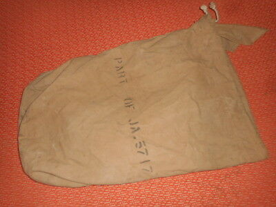 British Army :  Wwii 1943  Bag For Tent Militaria