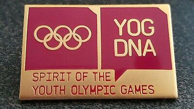 2016 Lillehammer Youth Olympics YOG DNA Spirit of the Youth Olympic Games pin