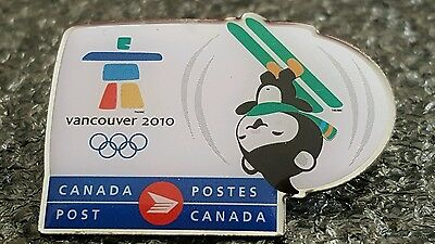 2010 Vancouver Olympic CANADA POST MIGA SKIING pin