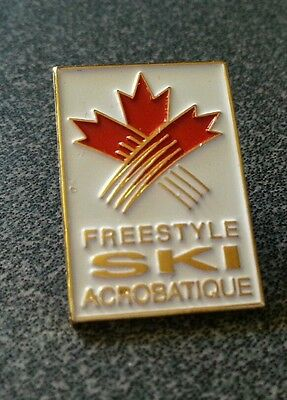 Vancouver 2010 Olympic Freestyle Ski Association pin