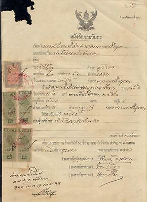 Thailand document 1 revenues timbre fiscal