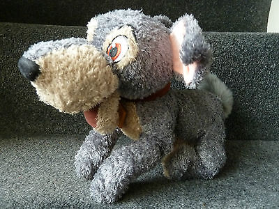 """Disney Store ~  Tramp 13"""" Plush Soft Toy From Lady And The Tramp"""