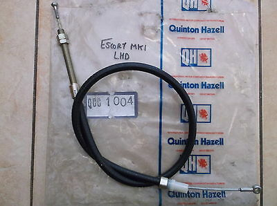 Ford Escort Mk1 1.1 1.3 1.6 Mexico Gt 1968-1974 Lhd Clutch Cable