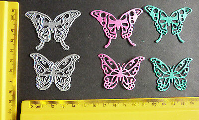 Butterfly/Butterflies Metal cutting Dies ~ 2 in Pack- Please read description
