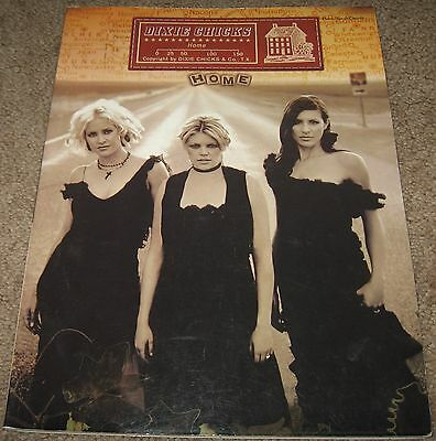 The Dixie Chicks HOME Songbook Sheet Music Country Natalie Maines Emily Robinson