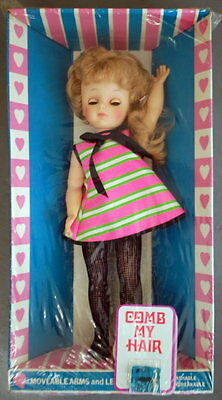 RARE 1960's Eegee's Vinyl Susan in Mod Outfit - Still Factory Sealed!