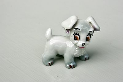 Wade Whimsies Walt Disney Figurine SCAMP DOG from Lady and the Tramp