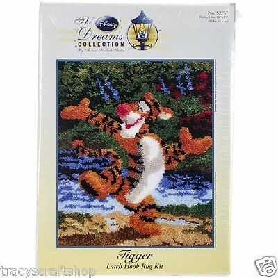 "Latch Hook Kit Disney Tigger by MCG Textiles 20x25""  Rug Making Kit"