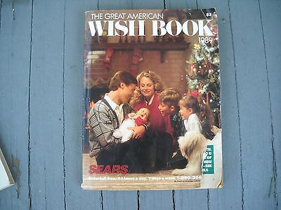 Vintage 1989 Sears Department Store Christmas Catalog Book