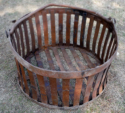 """Industrial Iron Canning Basket for repurpose(Shipping Options) 36""""150#, 20% disc"""