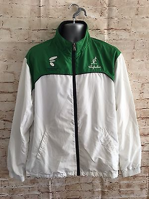 VTG Shell Suit Jacket Retro Rave 80s Sports Festival Stag & Hen Football Large