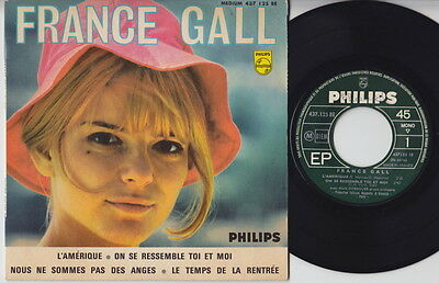 France GALL * 60's FRENCH POP Girl JERK MOD EP * Listen!
