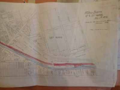 Lehigh Valley Rail Road Lot of 29 maps from the 1890-1900s track charts