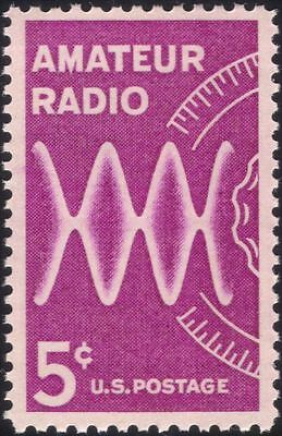 USA 1964 Amateur Radio/Broadcasting/Radio Waves/Dial/Communications 1v (n44997)