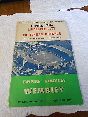 Tottenham Hotspur THFC Spurs FA Cup Double Football Programme Signed