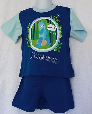 New Ex Store Night Garden Igglepiggle Shorty Pyjamas Age 1-2 years FREE P&P