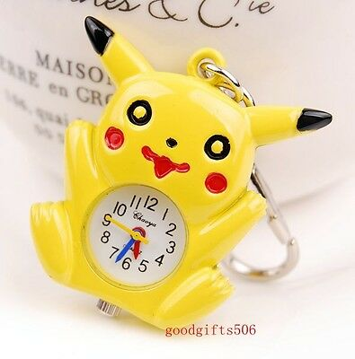 Lovely Yellow bird Boys girls lady Key Ring Chain watch gift DK24-FREE P&P