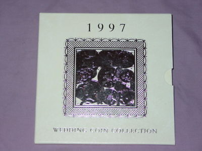 1997 ROYAL MINT COMMEMORATIVE WEDDING COIN COLLECTION - 20th Anniversary