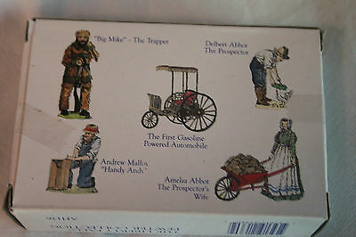 Liberty Falls Hand painted Miniature Accessory Figurines 5pc Set AH136 PEWTER