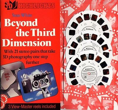 Beyond the Third Dimension by Stan White Custom-made View-Master Packet New Mint