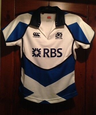 NWOT Authentic Ladies Canterbury Scotland Rugby Jersey Size Adult 8 Small