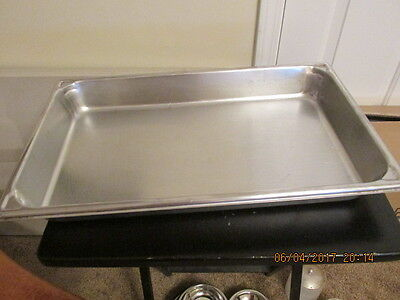"Syscoware Commercial Kitchen Steamtable Hotel Pan 11 1/2""W x 19 1/2""L x 2 1/2""D"