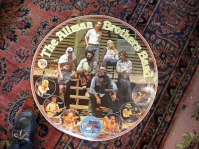 """GREGG ALLMAN RIP The ALLMAN BROTHERS BAND 27"""" Poster for PIONEER 1973-75 NICE!"""