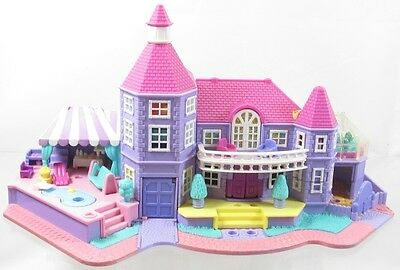 1992 Vintage Polly Pocket Magical Mansion Building Only Bluebird Toys