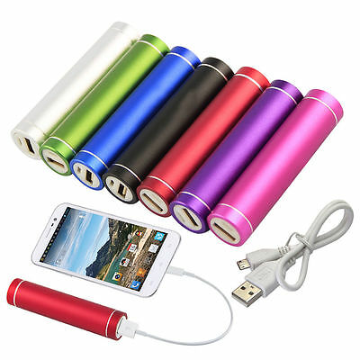 Power Bank External Portable 2600 mAh Battery Charger For Samsung Galaxy S6 Edge