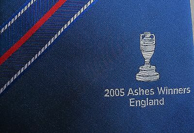 2005 Ashes Winners England Lords Tie
