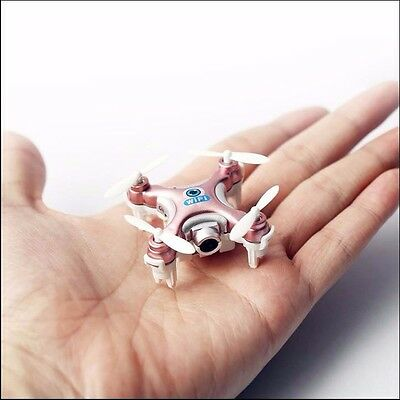 2.4G 4CH 6 Axis Mini Quadcopter Micro Drone iOS/Android APP Wifi Control Pink