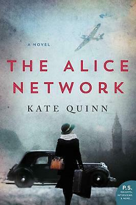 Alice Network: A Novel by Kate Quinn Paperback Book Free Shipping!