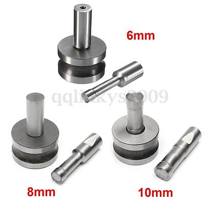 6/8/10mm Stamp Die Round Punch Mold For Tablet Pill Press Equipment TDP0/1.5 AU