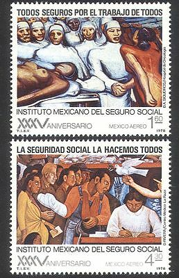 Mexico 1978 Health Service/Welfare/Medical/Doctor/Nurses/Patients 2v set n39835