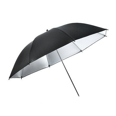 85cm Umbrella Photography Studio Umbrella Light White Diffuser Silver Reflective