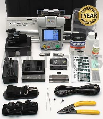 FiTeL S122A Handheld SM MM Fiber Fusion Splicer w/ USF-21C Cleaver S122