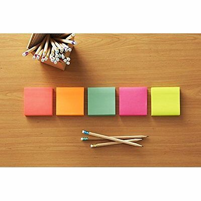 Post-it Notes, 3 in x 3 in, Cape Town Collection, 14 Pads/Pack (654-14AN)